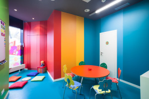 Jazykové kurzy angličtiny pro děti Kids and Us probíhají v krásných prostorách - upraveny dle franšízy KidsUs
