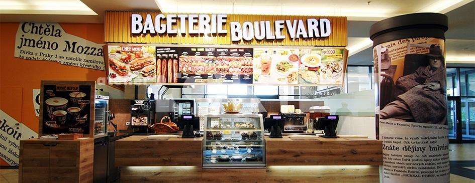 občerstvení franchisa Bageterie Boulevard