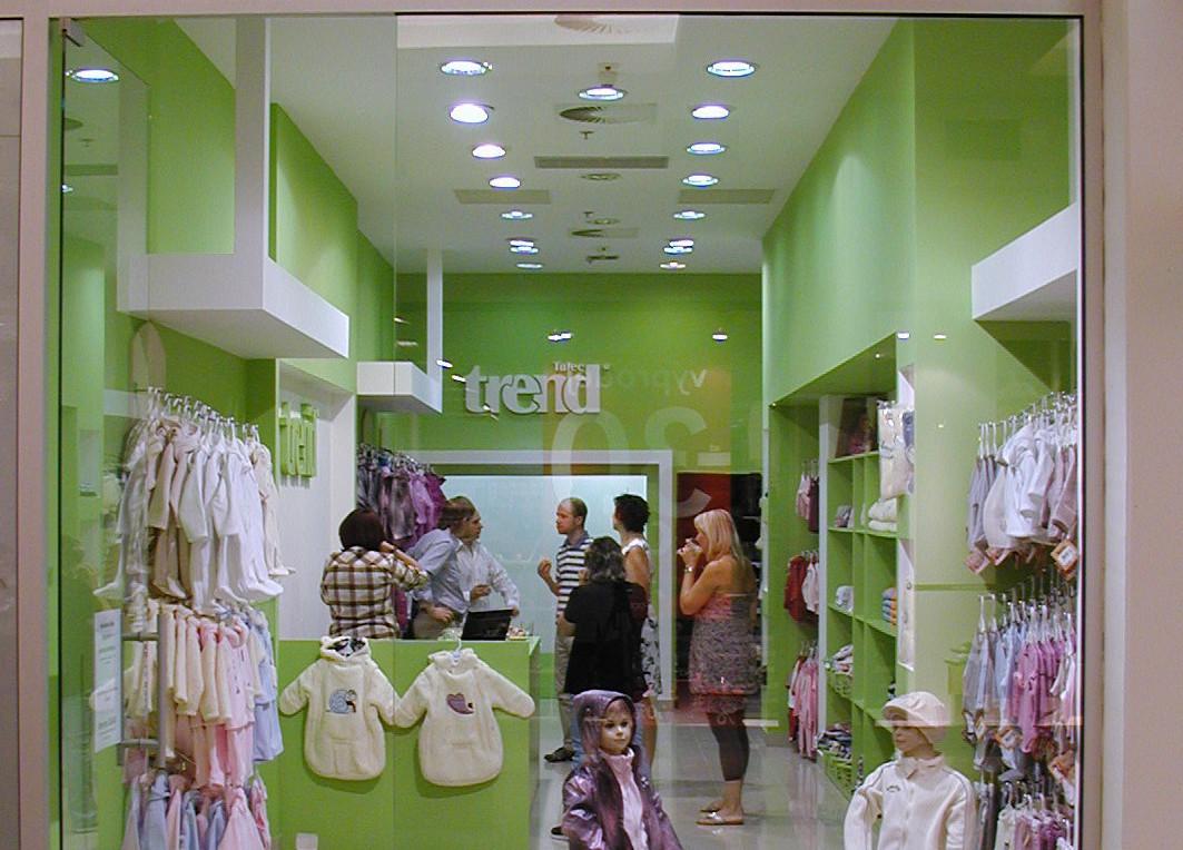 Trend - podnikání pod značkou Tulec trend - dětské oblečení a potřeby pro novorozence