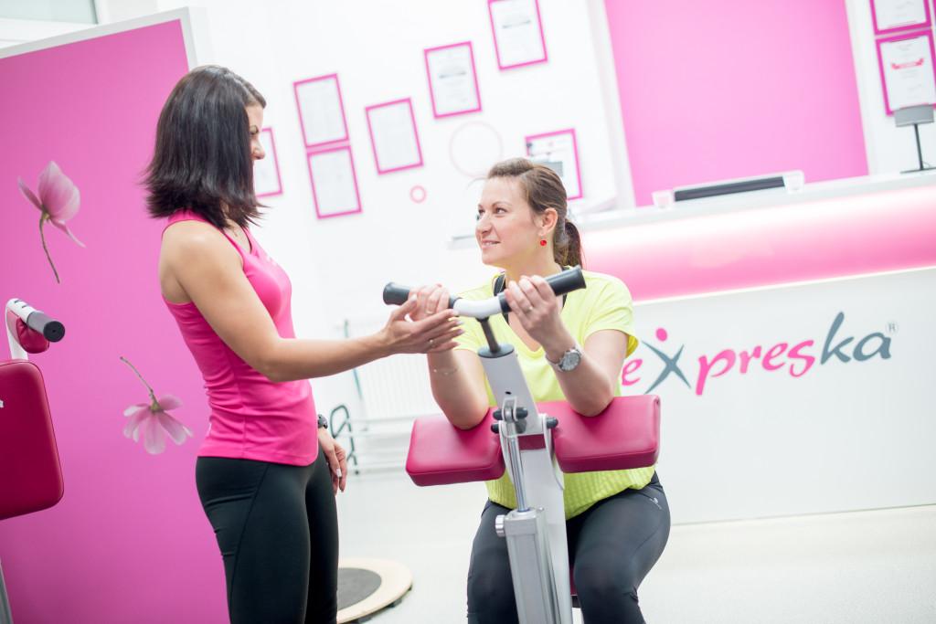 podnikání s Expreskou - jak podnikat s fintess konceptem Expreska - Expresku můžete ve vašem městě provozovat i vy