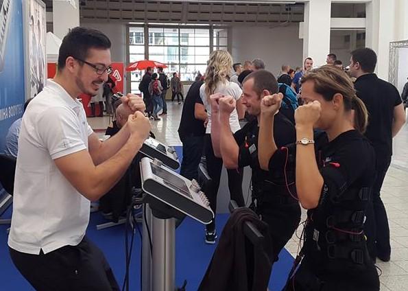 franchising fitness studio Body Express s EMS přístroji - franšíza EMS