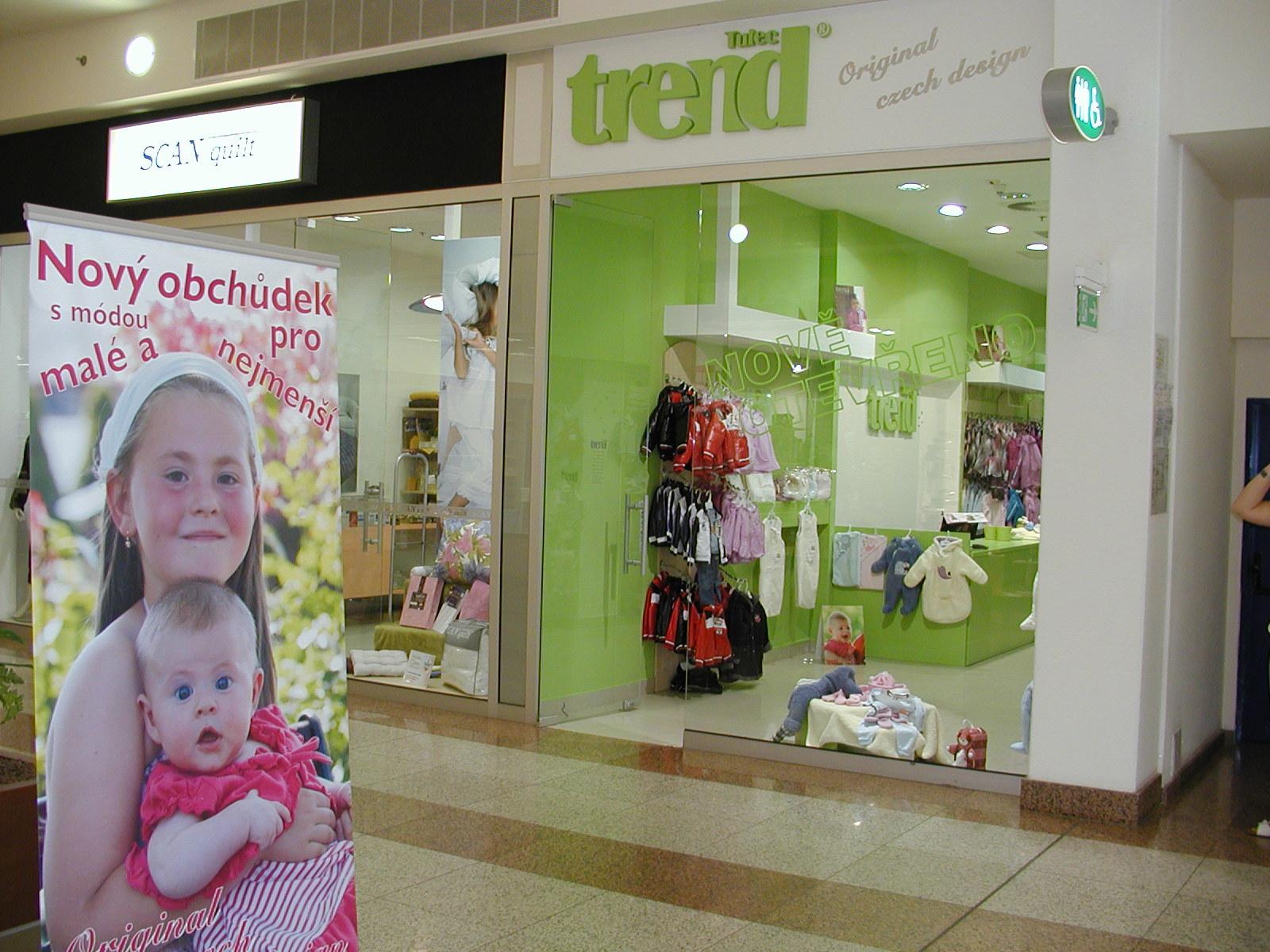 franchisa s českým oblečením pro děti