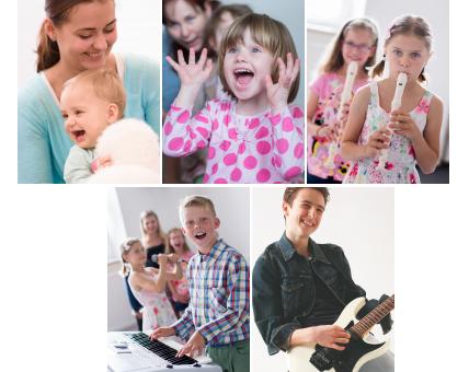 """Hledáte kvalitní hudební kroužky pro své děti a stále nenacházíte """"to pravé""""? Máte hudební vzdělání či kladný vztah k hudbě?"""