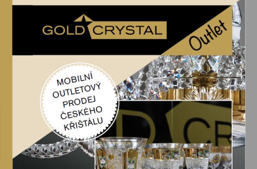 GOLD CRYSTAL představuje nový franšízingový koncept založený na outletovém prodeji českého skla, tradičního i v novém pojetí.